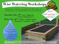 Wise Watering Workshops