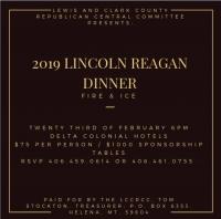 Lincoln Reagan Dinner - LCC Republicans
