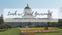 lunch with local government