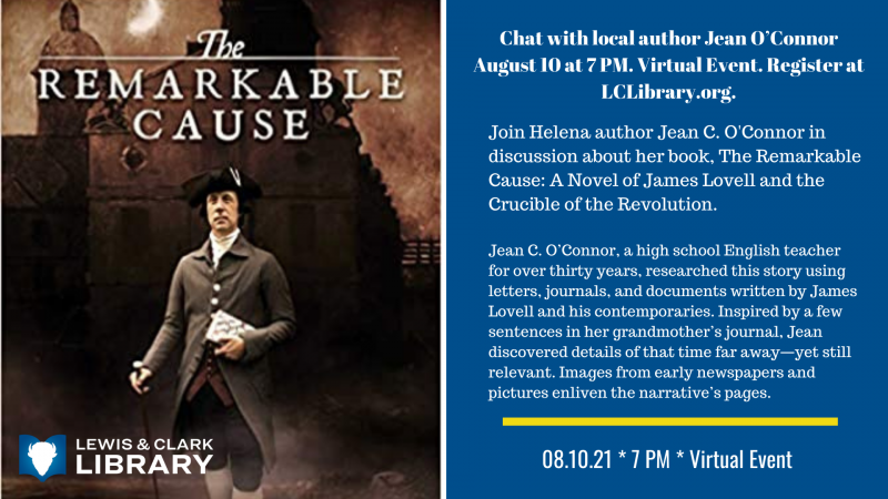 Chat with local author Jean O'Connor