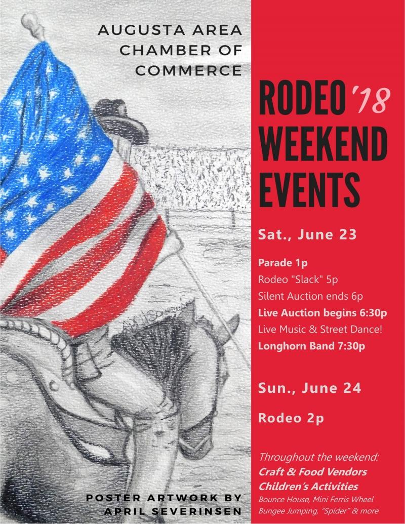 Augusta American Legion Prca Rodeo 07 22 2018 Augusta
