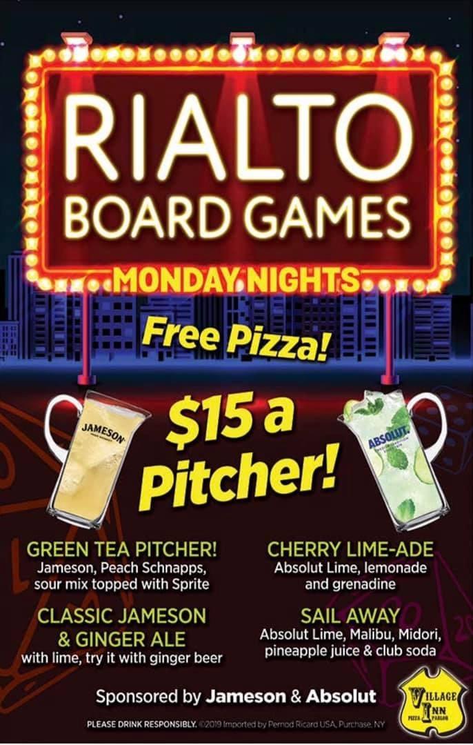 Rialto Game Night