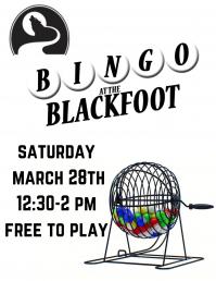 BINGO @ the Blackfoot