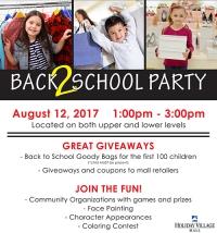 Back 2 School Party! - Great Falls