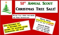 Boy Scout Christmas Tree Sale