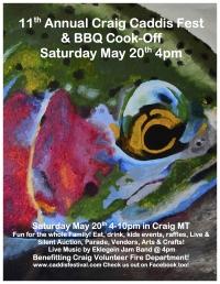 Craig Caddis Festival & BBQ Cook-Off