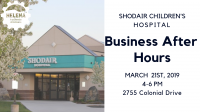 business after hours at shodair children's hospital