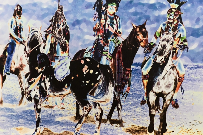 Silver Creek Ranch Arena Pre-owned Art Sale