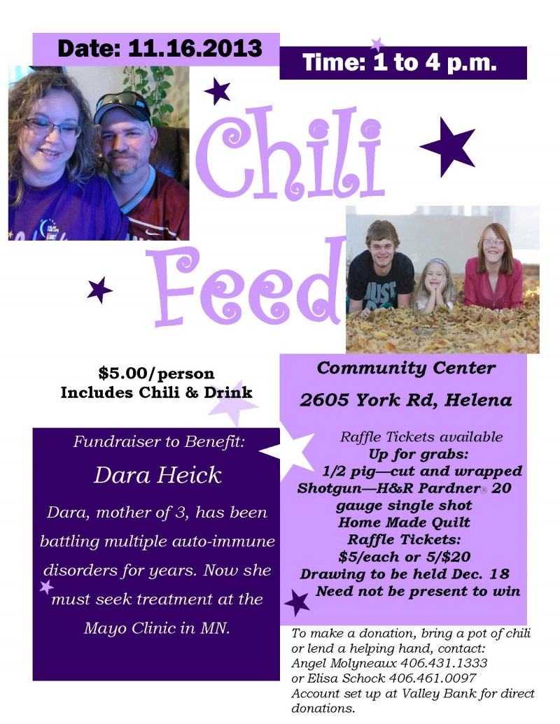 Finney County 4H Chili Feed Fundraiser | Kansas Honor Flight  |Chili Feed Fundraiser
