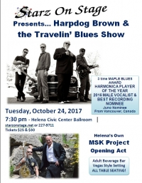 Harpdog Brown & the Travelin' Blues Show
