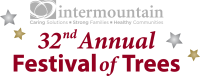 Intermountain's 32nd Annual Festival of Trees