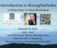 Introduction to StrengthsFinders Workshop