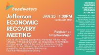 Jefferson Economic Recovery January Meeting