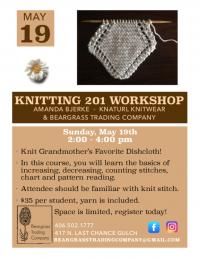 Knitting 201