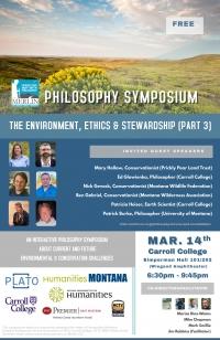 Philosophy Symposium: Environment, Ethics & Stewardship