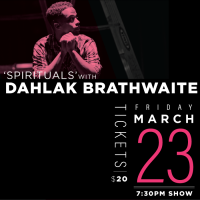 ?Spiritrials? with Dahlak Brathwaite