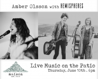 Live Music on the Patio at Maison