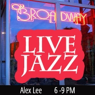 Alex Lee Live! at ON BROADWAY