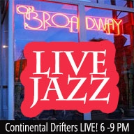 Continental Drifters Live! at ON BROADWAY