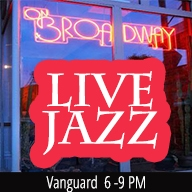 Vanguard  Live! at ON BROADWAY