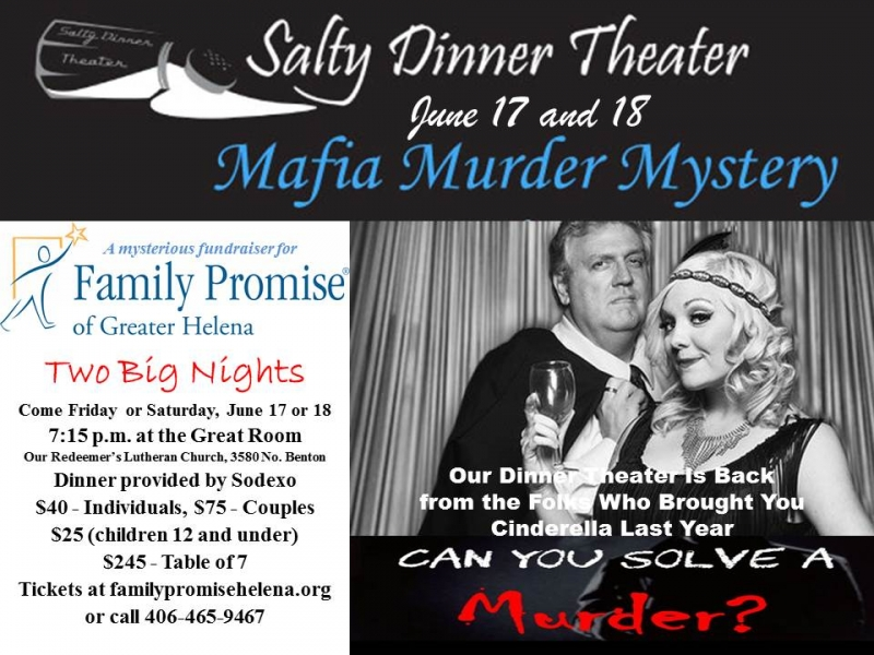 Dinner Theater Mafia Murder Mystery