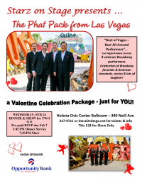 Valentine Concert from Las Vegas - The Phat Pack!