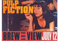 Pulp Fiction Brew & View at The Myrna Loy