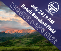 Helena Young Professionals Hike: Rogers Pass