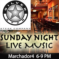 CANCELLED Sunday Night Live! Music at Silver Star