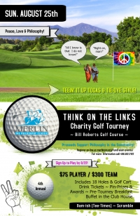 """4th Annual """"Think in the Links"""" Charity Golf Tourney"""