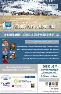 Philosophy Symposium: Landowner& Habitat Relationships