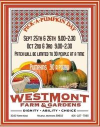 Pick-a-Pumpkin Day CANCELLED