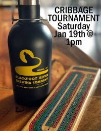 Cribbage Tournament at Blackfoot River Brewing Co!