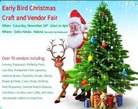 Earlybird Christmas Craft & Vendor Fair