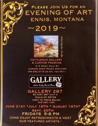 Evening of Art  in Ennis MT 2019