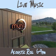 Live Music at Muni's Sports Grille. Acoustic Roll