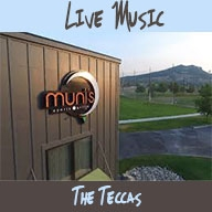 Live Music at Muni's Sports Grille. The Teccas