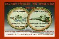 Lisa Ernst Porcelain  2017 Spring Show
