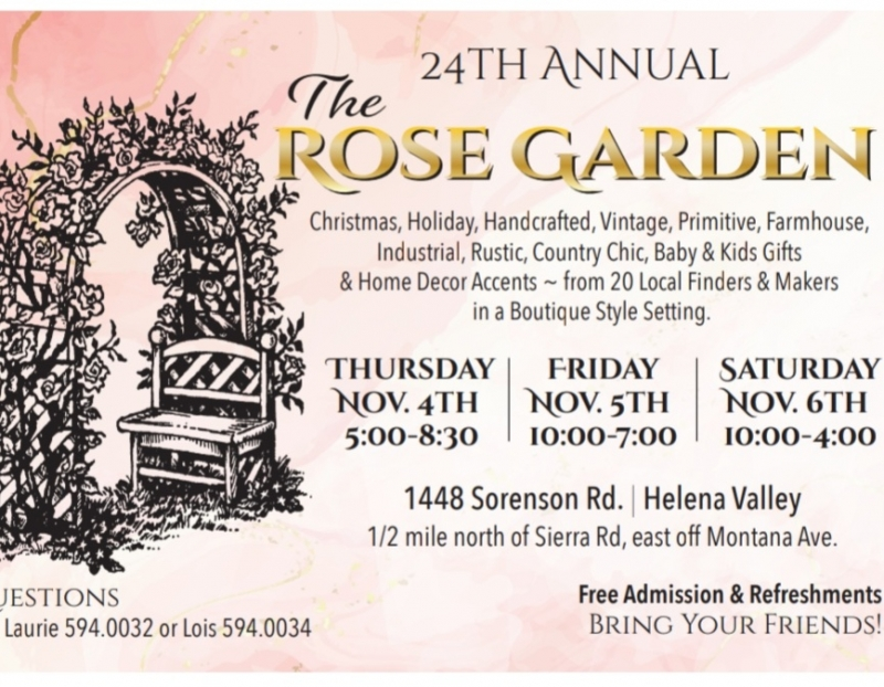 The Rose Garden Craft & Vintage Market