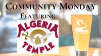 Community Monday @ BRBC with Algeria Shriners