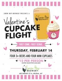 Valentine's Day Cupcake Pairing
