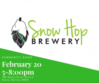 Local Wednesday at Snow Hop Brewery