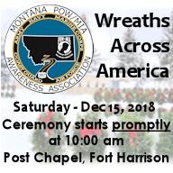 Wreaths Across America Post Chapel Ceremony