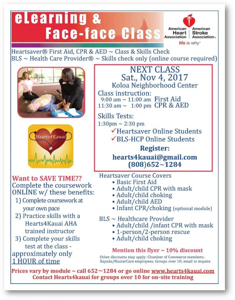First aid cpr aed class skills check 11042017 koloa hawaii first aid cpr aed class skills check 1betcityfo Gallery