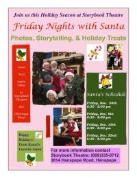 Friday Night With Santa