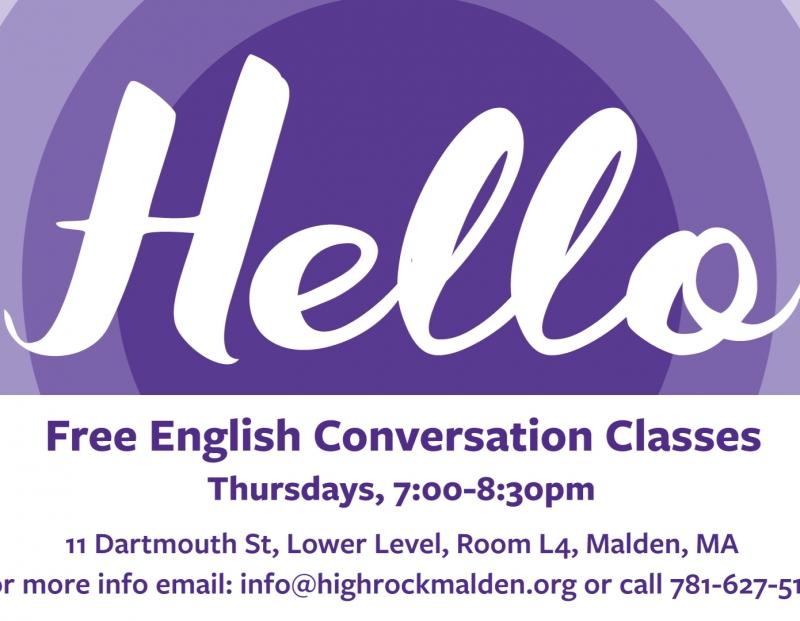 Free English Conversation Classes