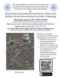 Kierstead and Tartikoff Park Improvements