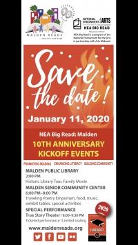 Malden Reads Kickoff Event
