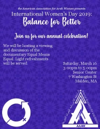 7th Annual International Women's Day Celebration 2019