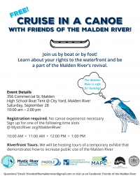Cruise in a Canoe on the Malden River